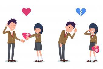 anime dating couple