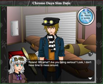 Chrono Days Sim Date website