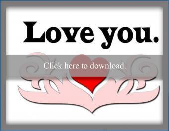 Intense Feelings Love Card