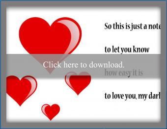 Busy Lives Love Card