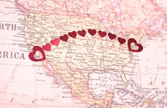 Hearts of Love Map