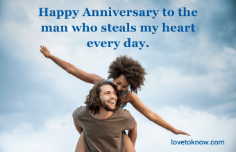 happy anniversary quote for him