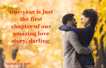 one year anniversary quotes for him