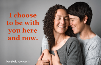 Healthy relationship quotes about loving intentionally