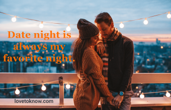 Cute date night captions for Instagram and Facebook