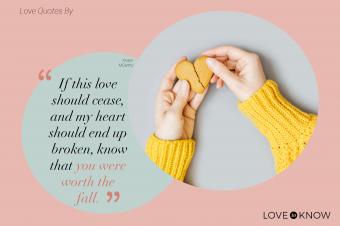 Hands Holding a Broken Heart Cookie