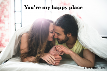 You're my happy place