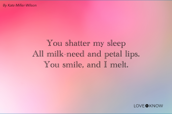 Love Haiku From Mother To Infant