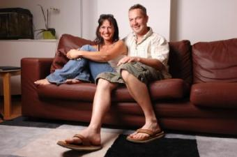 couple on couch