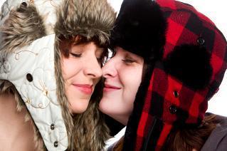 Eskimo kisses