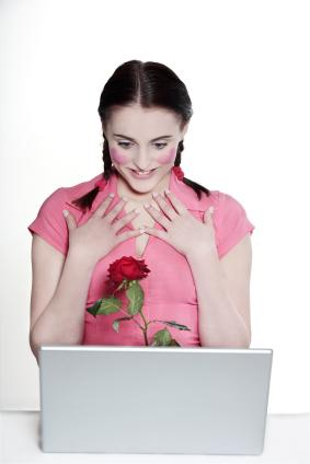 Online dating romance