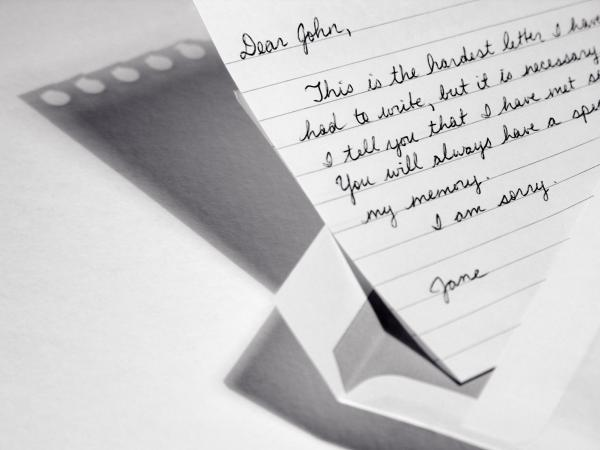 Break-up letter