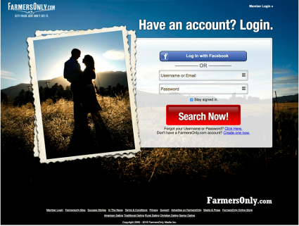 farmers dating website ad