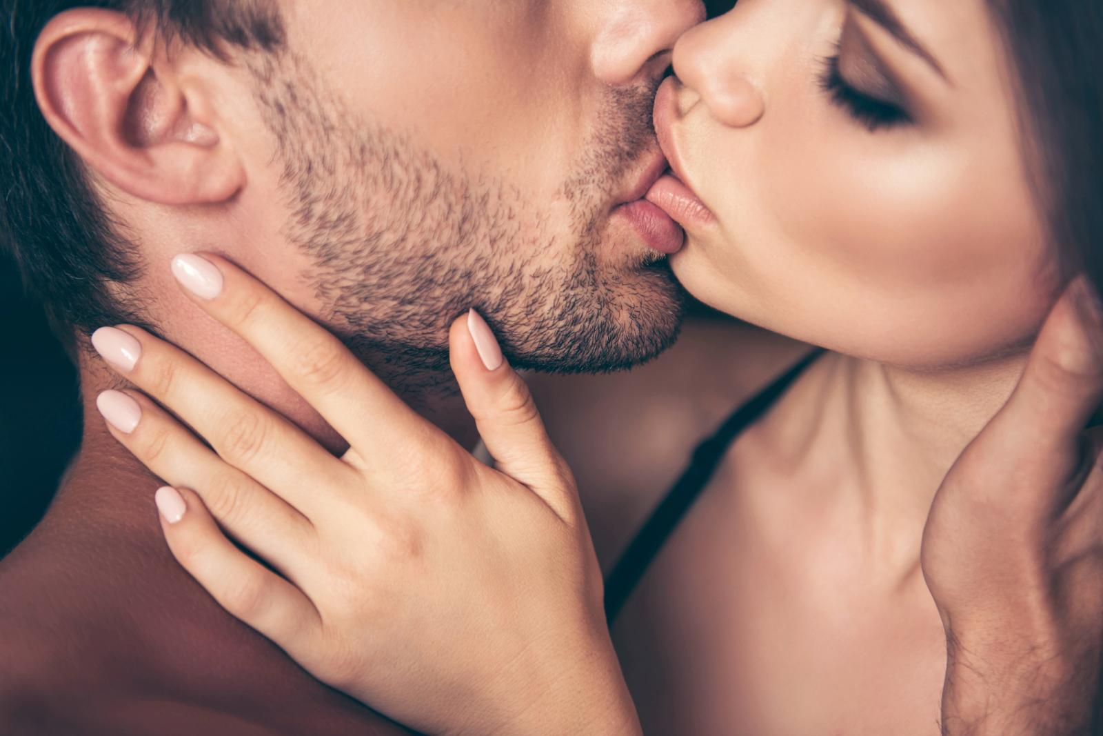 ways to kiss a guy passionately