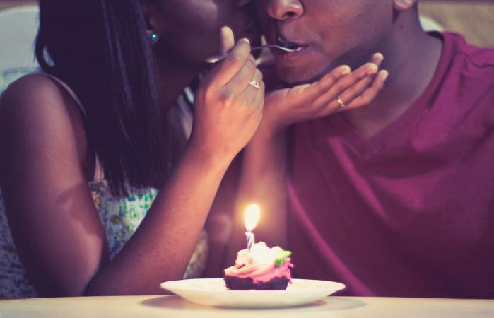 Romantic Birthday Cake