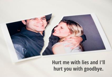 Quote about lies hurting