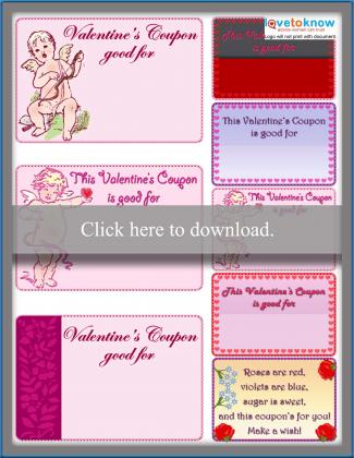 Blank Love Coupons