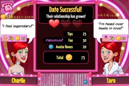 Screenshot of Kitty Powers' Matchmaker