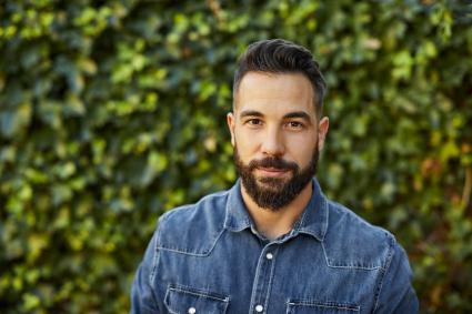 Handsome Hispanic man