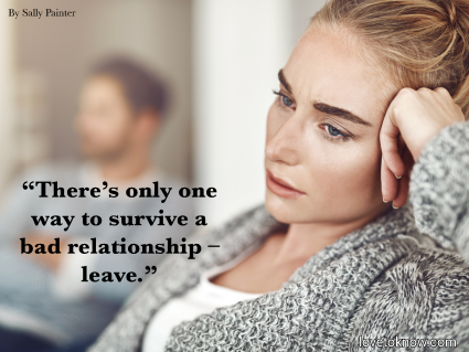 Sad Quote About Relationships Ending With Sad Couple