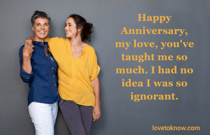 Happy anniversary funny quotes with sarcasm