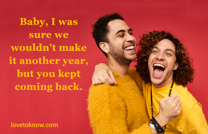 Funny anniversary quotes with personal digs