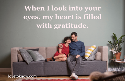 Quotes about gratitude in a healthy relationship