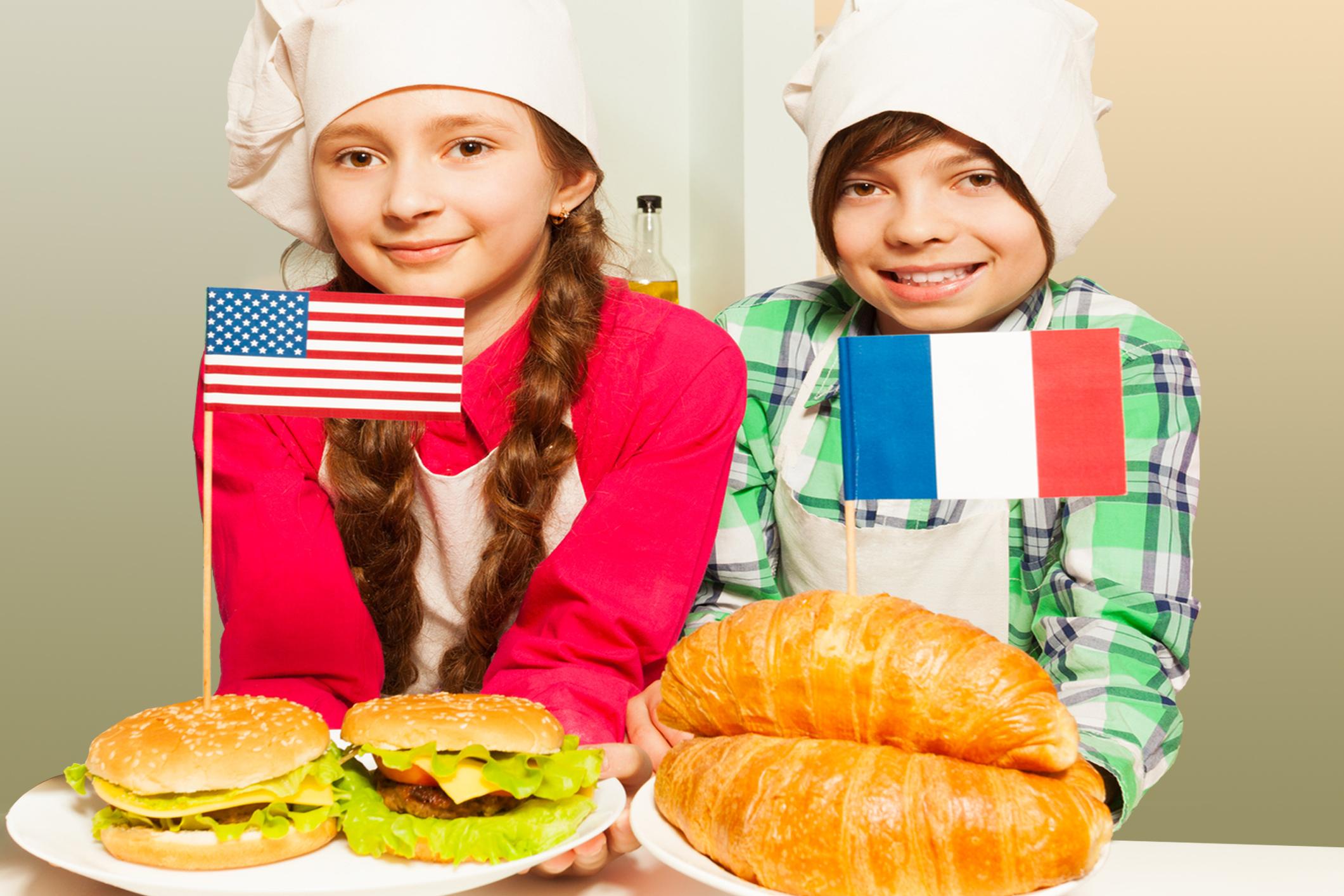 fast food diet france