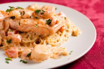 Angel Hair Seafood Pasta