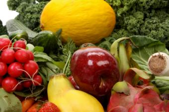 Raw Fruits and Vegetables