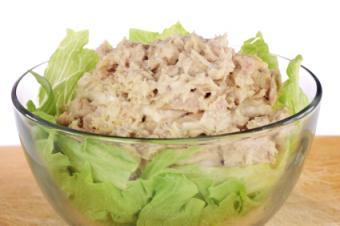 Soft tuna salad