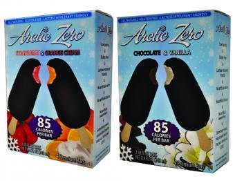 Arctic Zero low calorie dessert bars