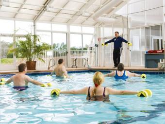 Duke Diet and Fitness Center Pool