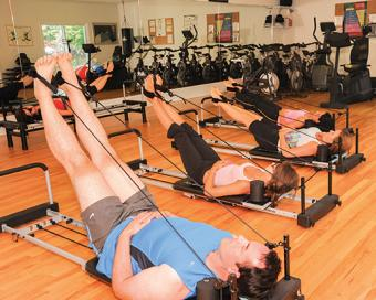 Exercise at Deerfield Spa