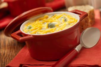 Cheesy Potato Broccoli Soup