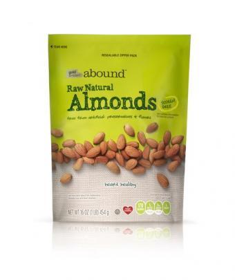 Gold Emblem Abound Raw Natural Almonds