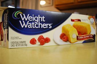 Weight Watchers Sponge Cake