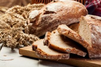 Slided rye bread