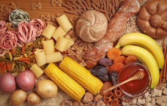 High-Carbohydrate Food List