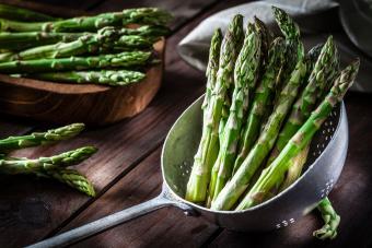 Fresh bunch of asparagus