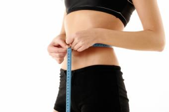 measuring waist to monitor weight loss