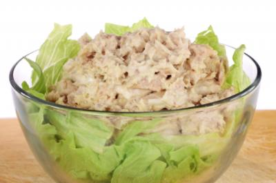 Soft tuna salad