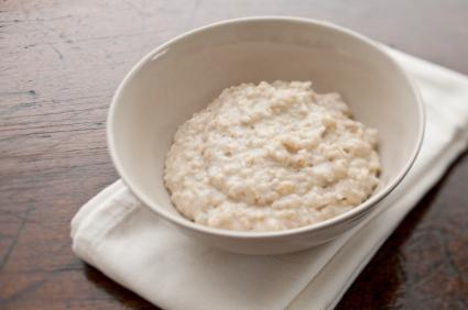 Bowl of oatmeal