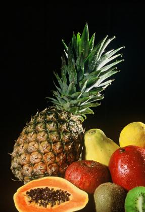 Pineapples and other diuretic fruits