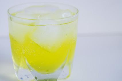 Yellow Soft Drink