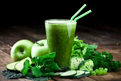 Green vegetable juice