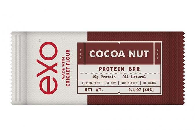 Exo Cricket Flour Protein Bars, Cocoa Nut