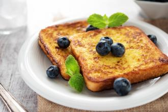 gluten-free blueberry french toast
