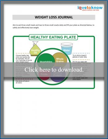 picture about Printable Weight Loss Journal referred to as Printable Excess weight Decline Magazine LoveToKnow