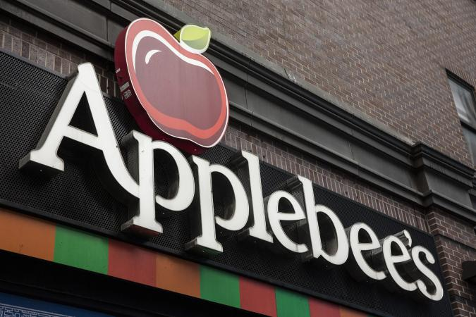 Applebees restaurant sign
